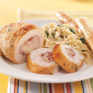 Italian Chicken Roll-Ups Recipe