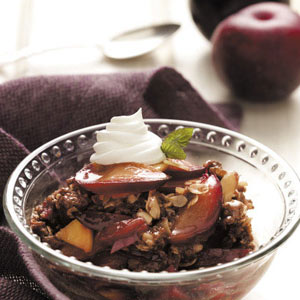 Ginger Fruit Crisp Recipe