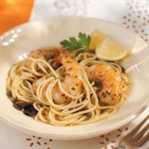 Lemon Seafood Pasta Recipe