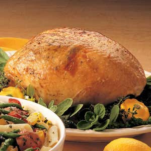 Lemon-Herbed Turkey Breast Recipe