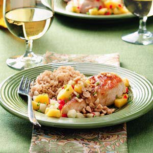 Asian Mango Chicken Recipe