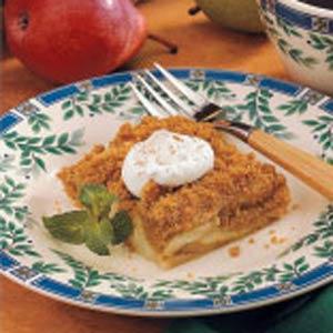 Pear Dessert Squares Recipe