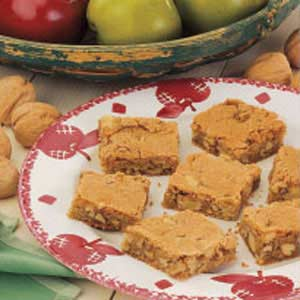 Apple Walnut Bars Recipe