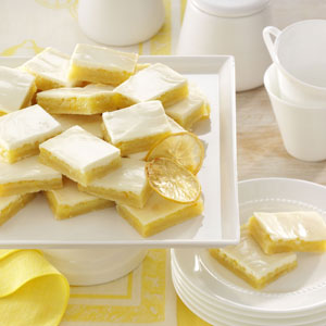 Shortbread Lemon Bars Recipe
