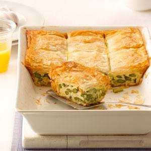 Asparagus Phyllo Bake Recipe