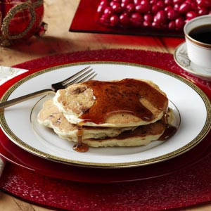 Sausage Cranberry Pancakes Recipe