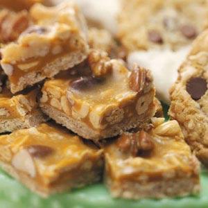 Mixed Nut Bars Recipe