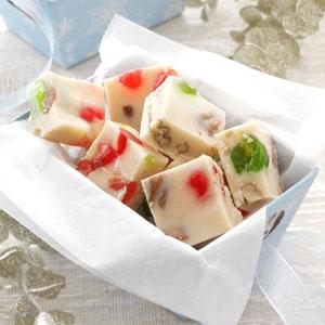 Cherry-Nut White Fudge Recipe