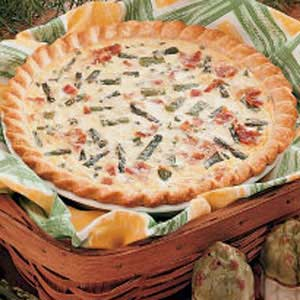 Asparagus Bacon Quiche Recipe