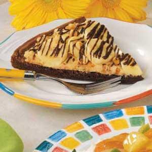 Peanut Butter Brownie Pizza Recipe