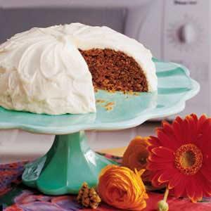 Casserole Carrot Cake Recipe