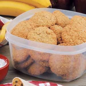Grandma's Chewy Oatmeal Cookies Recipe