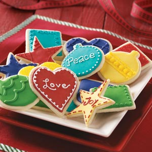 Festive Butter Cookies Recipe