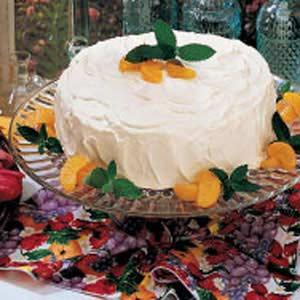 Orange Pineapple Torte Recipe