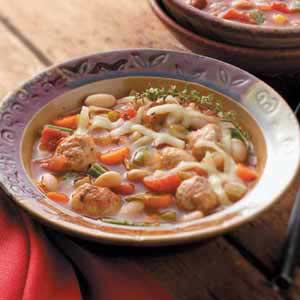 Flavorful Meatball Soup Recipe
