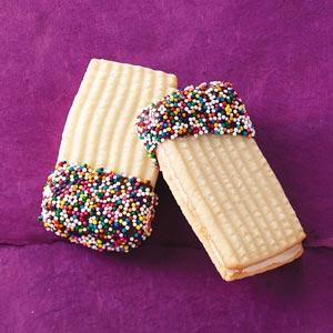 Shortbread Sandwich Cookies Recipe