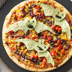 Flying Bat Pizzas Recipe