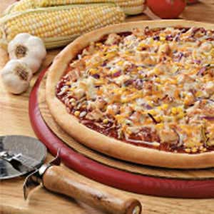Barbecued Turkey Pizza Recipe