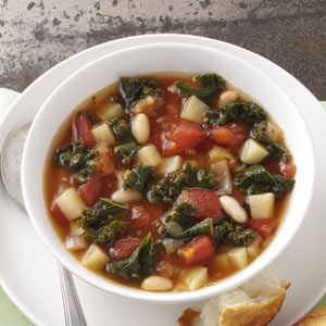 Kale & Bean Soup Recipe