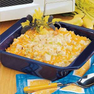 Turkey Rice Casserole Recipe