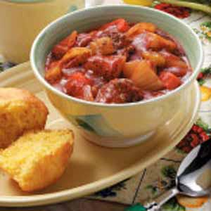 Hearty Beef Vegetable Stew Recipe
