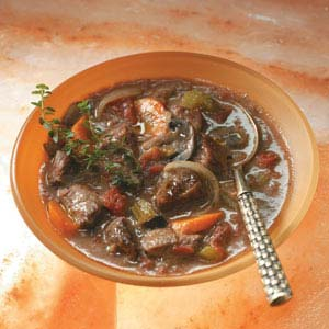 Easy Burgundy Stew Recipe