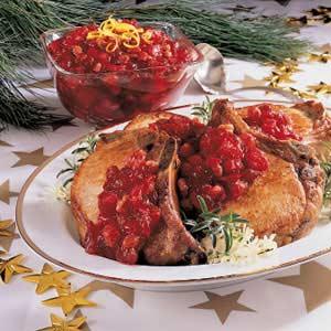 Quick Cranberry Chutney Recipe