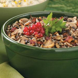 Mushroom Wild Rice Recipe