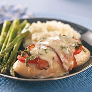 Caprese Chicken with Bacon Recipe