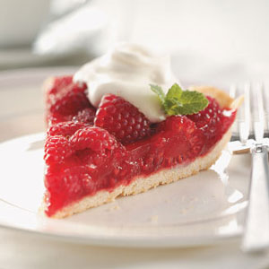 Raspberry-Glazed Pie Recipe