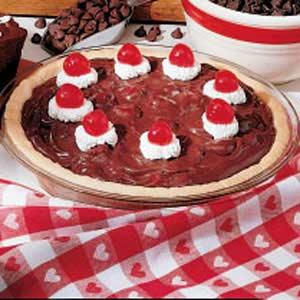 Chocolate Cherry Pie Recipe