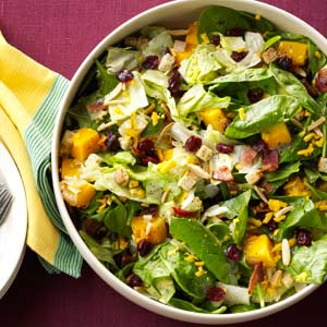 Roasted Butternut Tossed Salad Recipe