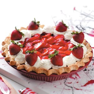 Old-Fashioned Strawberry Pie Recipe