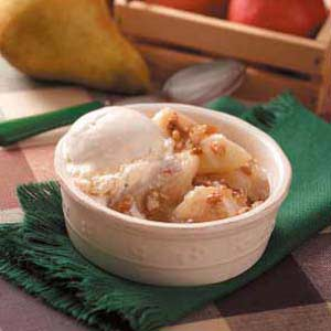 Roasted Pears in Pecan Sauce Recipe