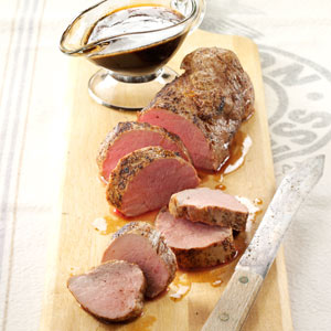 Honey-Glazed Pork Tenderloins Recipe