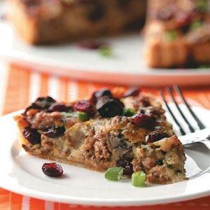 Sausage-Mushroom Cranberry Tart Recipe