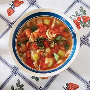 Garden Vegetable Soup Recipe