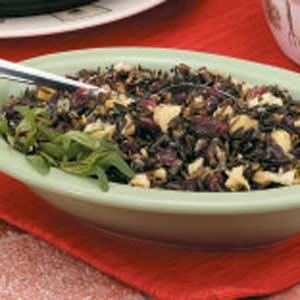 Apple-Cranberry Wild Rice Recipe