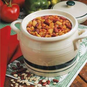 Three-Bean Casserole Recipe