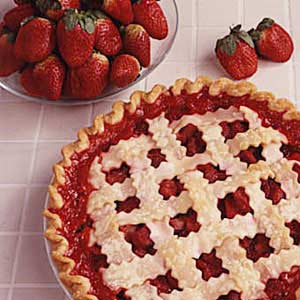 Rhubarb/Strawberry Pie Recipe
