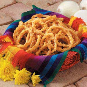 Southwestern Onion Rings Recipe