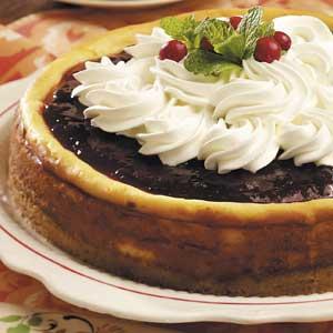 Festive White Chocolate Cheesecake Recipe