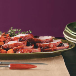 Easy Cranberry-Glazed Pork Roast Recipe