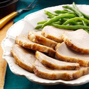 Light Glazed Pork Roast Recipe