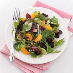 Greens and Roasted Beets Recipe