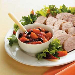 Plum Chutney with Pork Recipe
