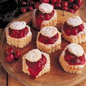 Cherry Cheesecake Tarts Recipe