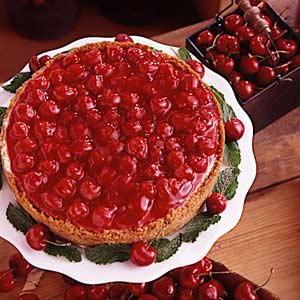 Creamy Cherry Cheesecake Recipe