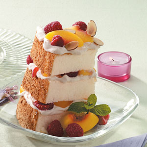 Peach Melba Mountain Recipe
