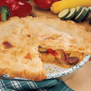 Farmer's Market Sausage Pie Recipe